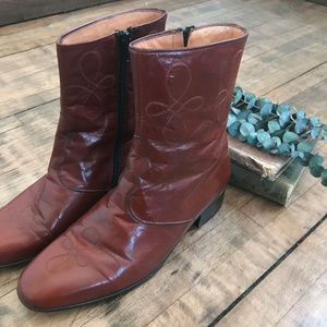 Napoleone Brown boots